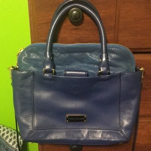 Marc by Marc Jacobs Blue Leather Bag with Strap